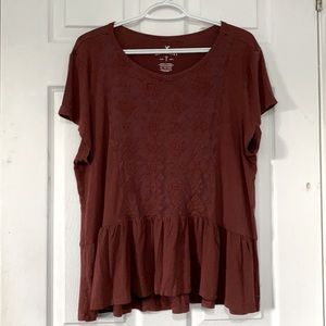 American Eagle Outfitters Boho Top